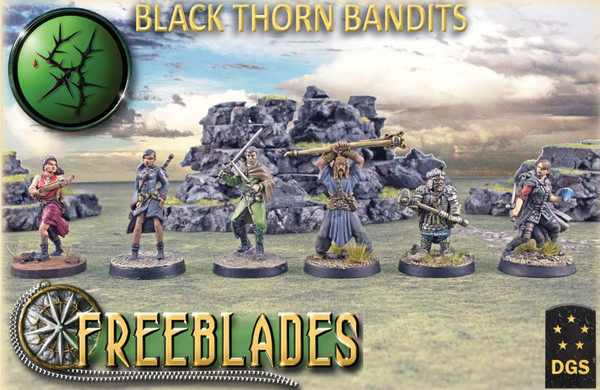 Black Thorn Bandits Starter Set