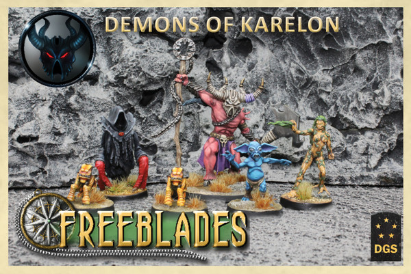 Demons of Karelon Starter Set