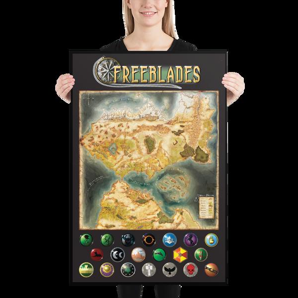 Freeblades Poster