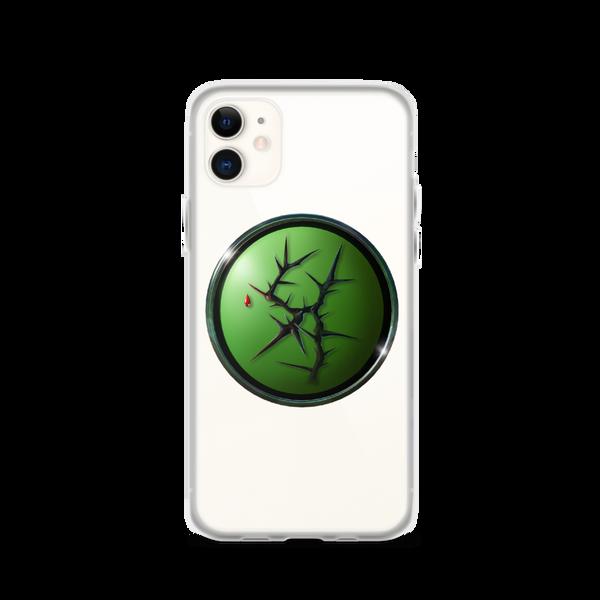 Black Thorn iPhone Case