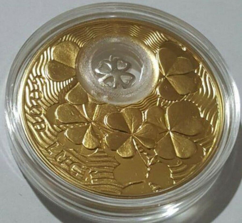 2011 28.28g PROOF Silver 1$ NOVOSELYE Coin WITH 24K GOLD GILDED..