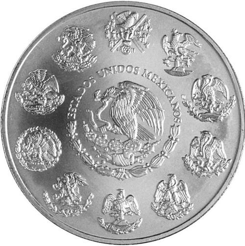 2018 1 Oz Silver MEXICAN RAINBOW LIBERTAD Coin.