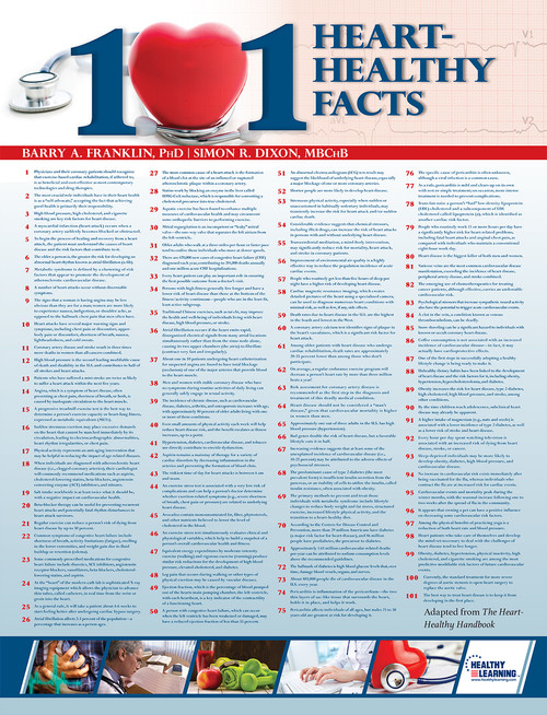 101 Heart-Healthy Facts