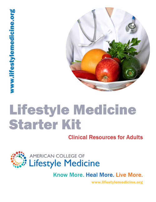 Lifestyle Medicine Adult Starter Kit