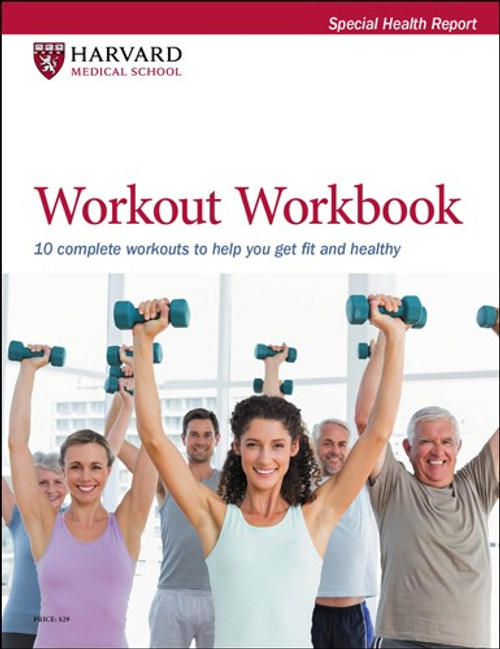 Workout Workbook: 9 complete workouts to help you get fit and healthy - SHR