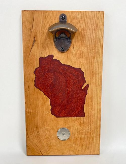 Wisconsin-Themed Bottle Opener