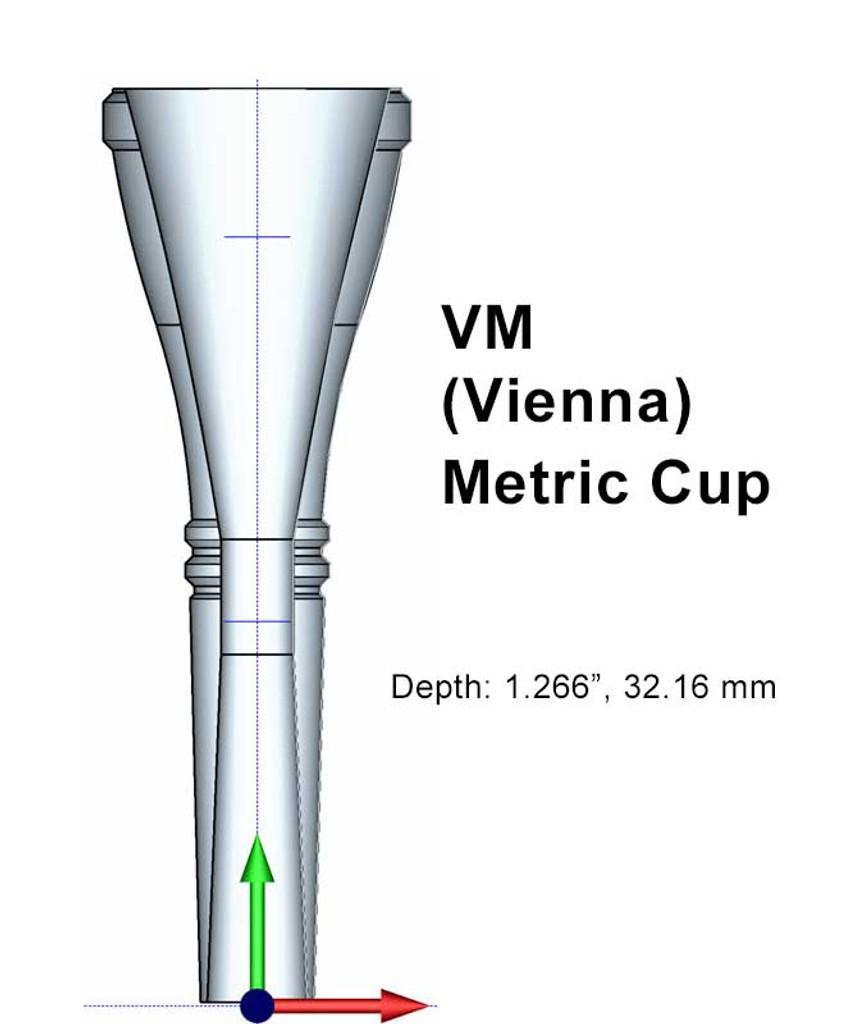 Osmun Metric Horn Cup