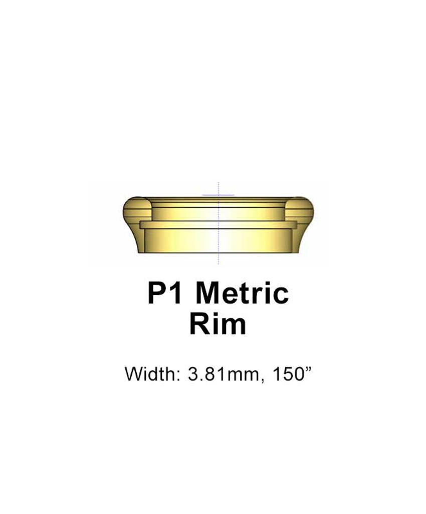 Osmun Metric Horn Rim