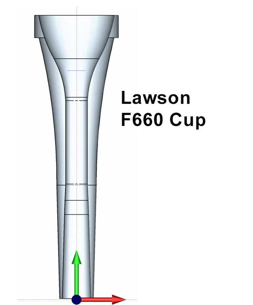 Lawson Replica Horn Cup