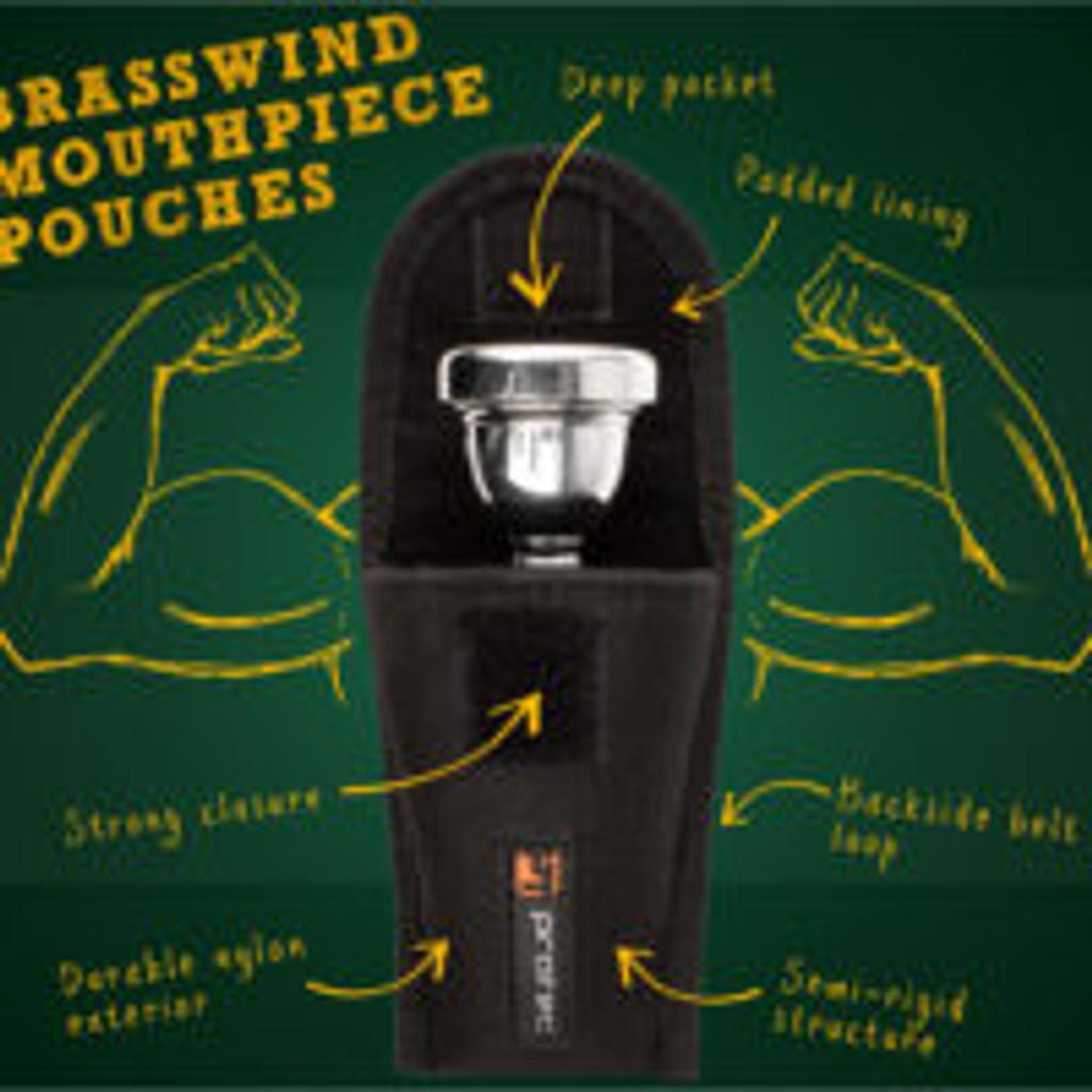 Pro Tec Single Mouthpiece Pouch