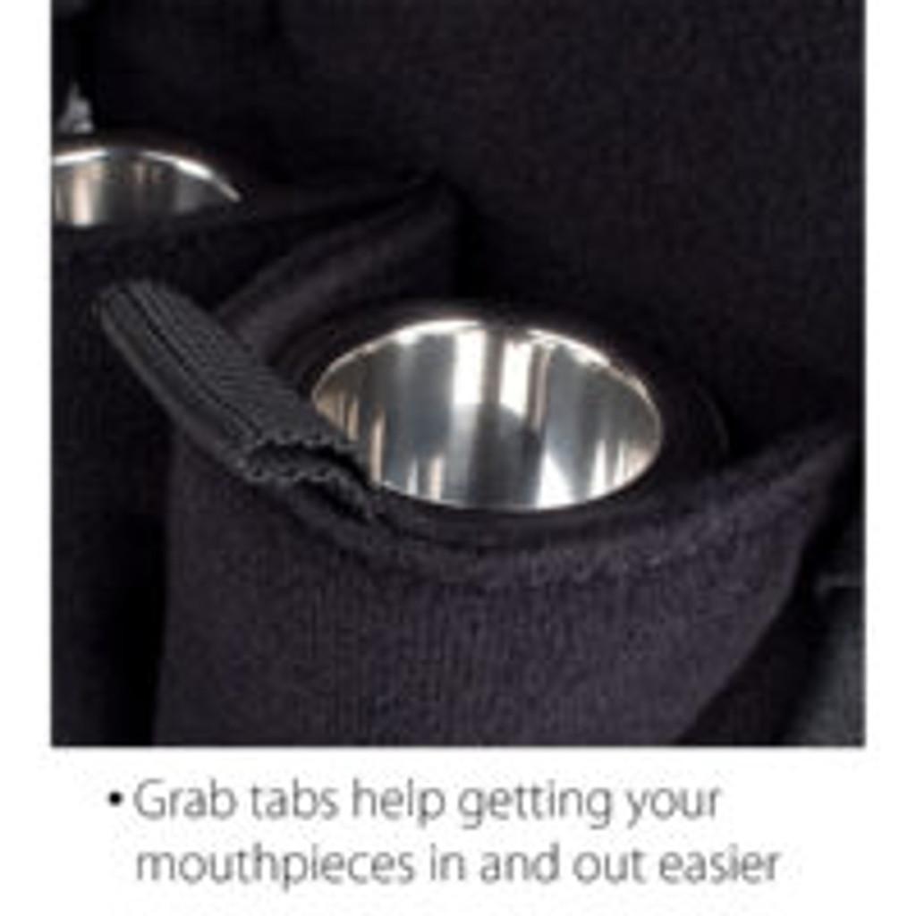 ProTec Double Trombone Mouthpiece Pouch