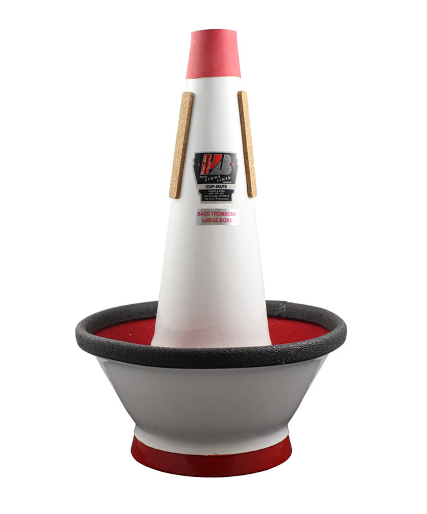 Stonelined Large Bore Bass Trombone Cup Mute