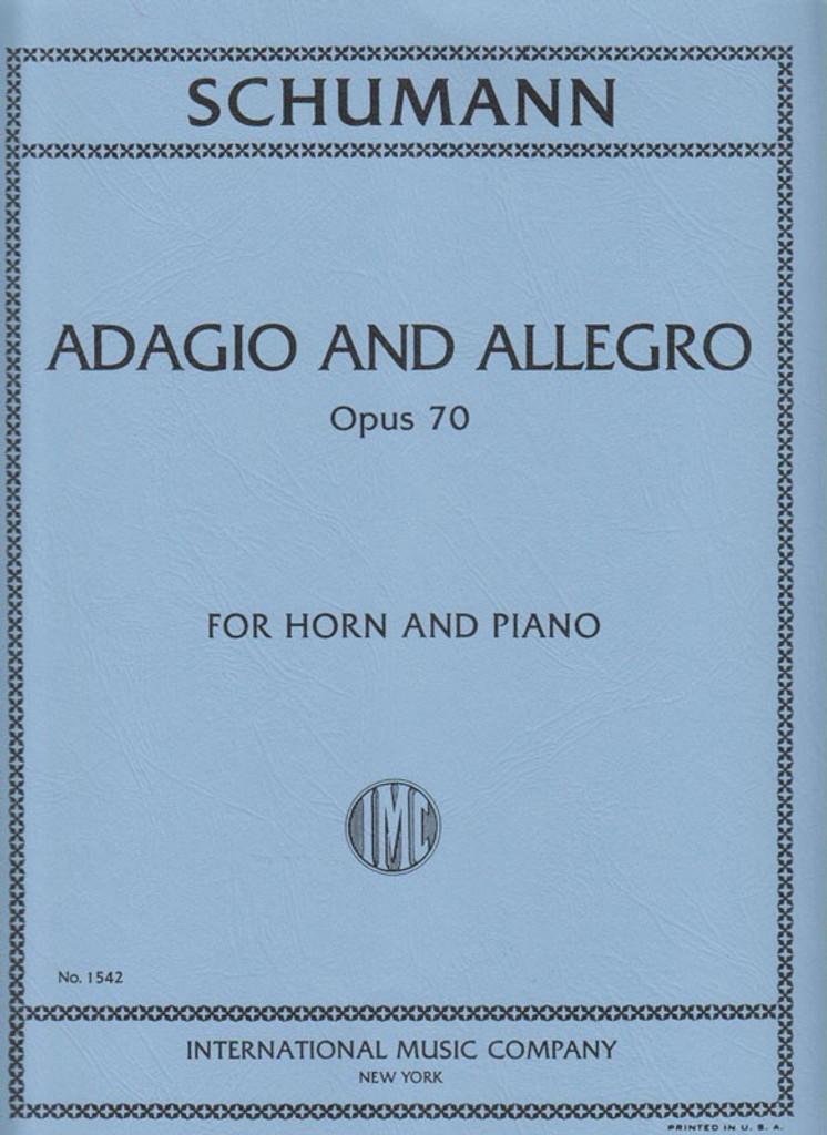 Schumann, Adagio & Allegro for French Horn