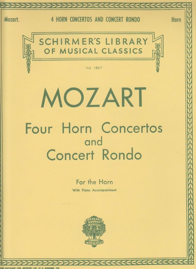 Mozart, 4 French Horn Concertos