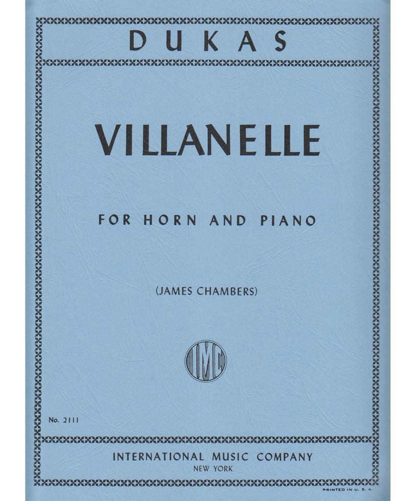 Dukas, Villanelle for French Horn
