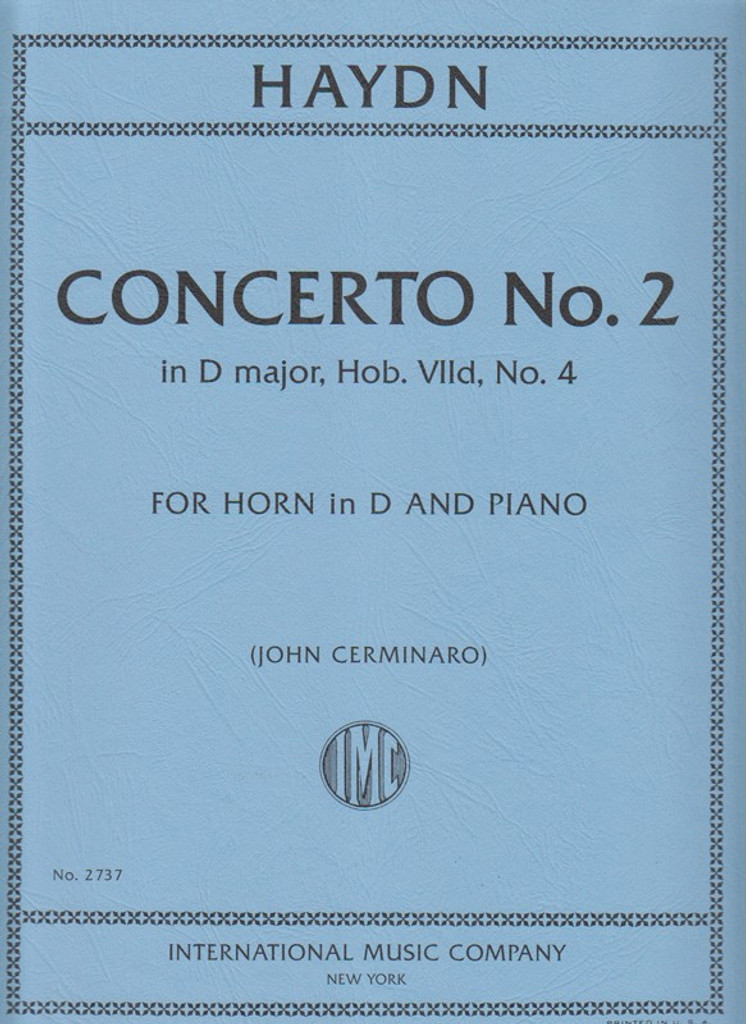 Haydn, Concerto No. 2 for French Horn