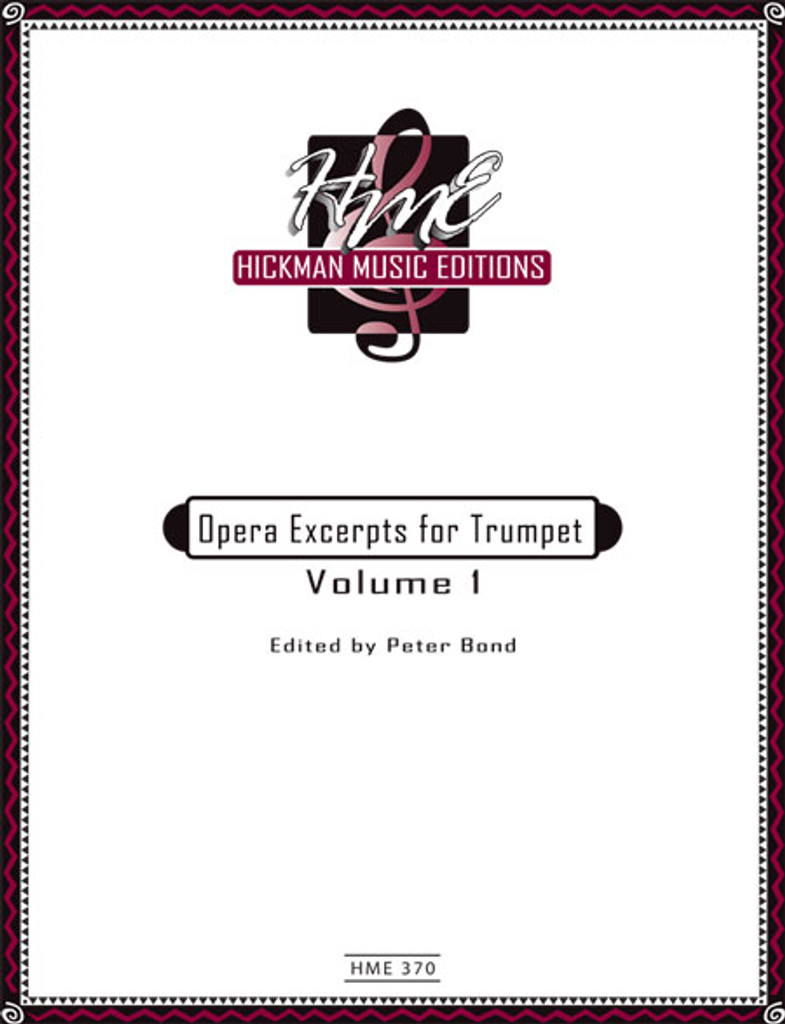 Opera Excerpts for Trumpet Volume 1