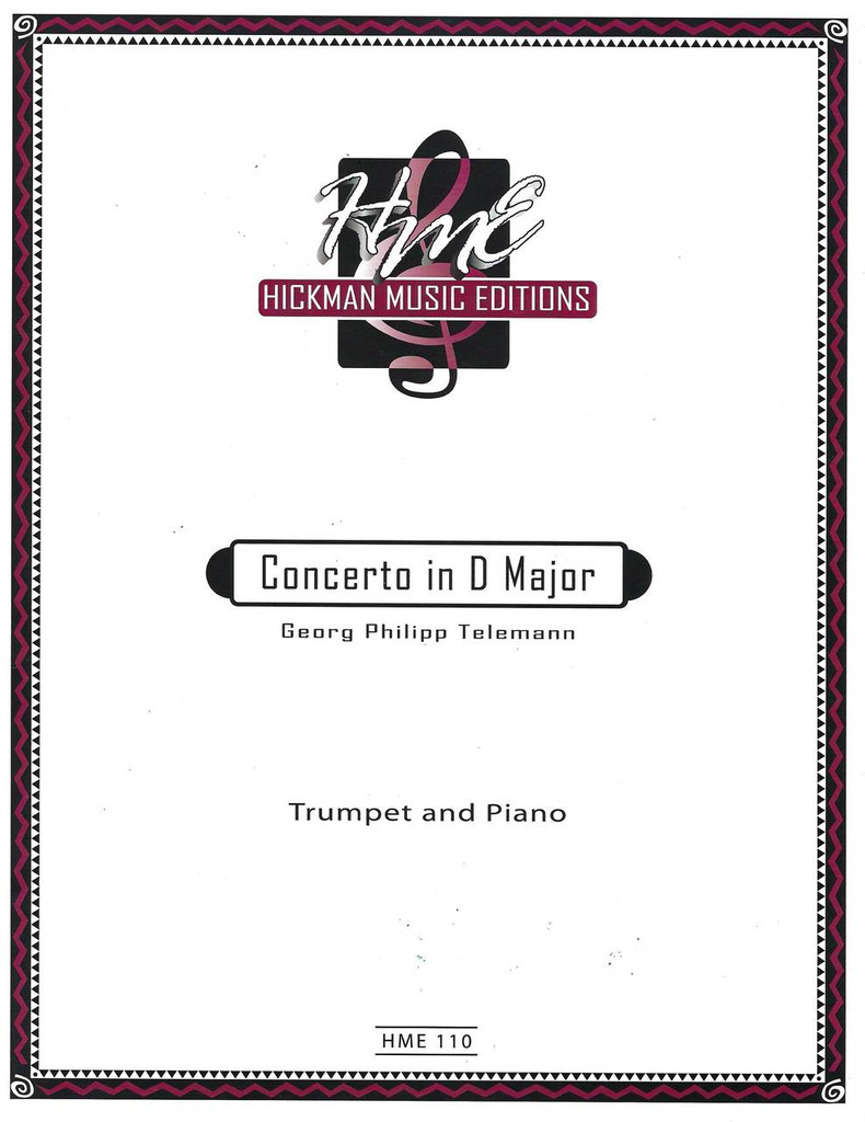 Telemann, Concerto In D for Trumpet