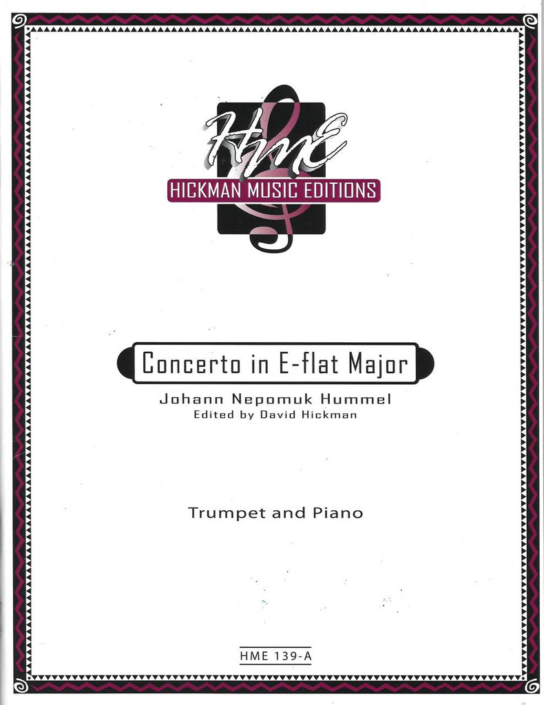 Hummel, Concerto In Eb for Trumpet