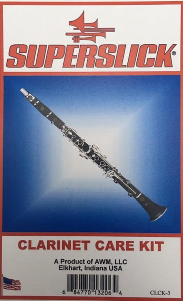 Superslick Clarinet Care & Maintenance Kit