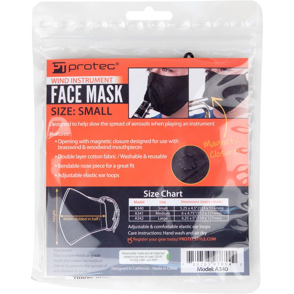 Face Mask Sizing Chart
