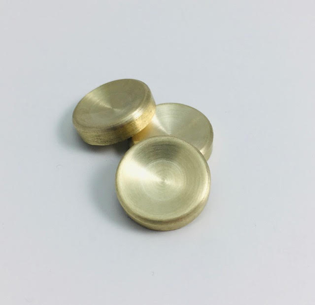 Contoured French Horn Finger Buttons in Bronze