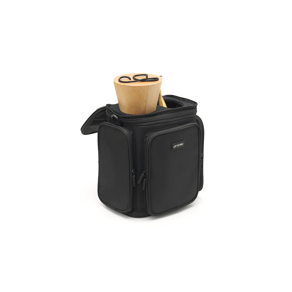 French Horn Double Mute Bag, Modular Wall & Mute Holder