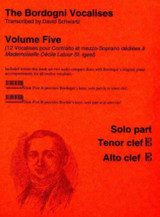 Bordogni Vocalises, Volume 5