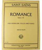 Saint-Saens Romance for French Horn