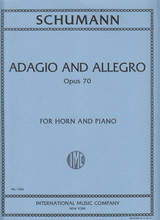 Schumann, Adagio & Allegro for French Horn