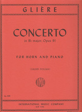 Gliere, Concerto In Bb for French Horn