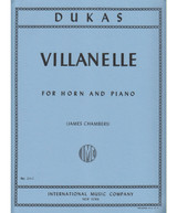 Dukas, Villanelle for French Horn