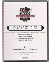 Clarke Studies Complete for Trumpet or Cornet