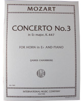Mozart French Horn Concerto No.3