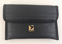 Triple Trombone Mouthpiece Pouch in leather