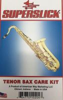 Superslick Tenor Sax Care & Maintenance Kit