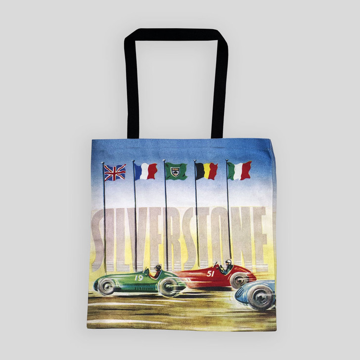 Silverstone 1951 Trophy Meeting Programme Cover Tote Bag