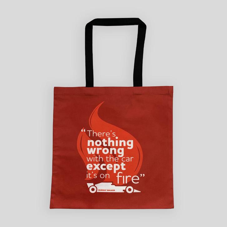 Murray Walker Nothing Wrong Tote Bag