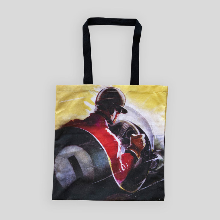 Silverstone 1955 Trophy Meeting Programme Cover Tote Bag