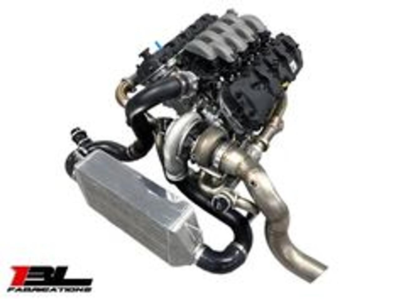 BL Fabrications Single Turbo Kit (2015+ Mustang GT)
