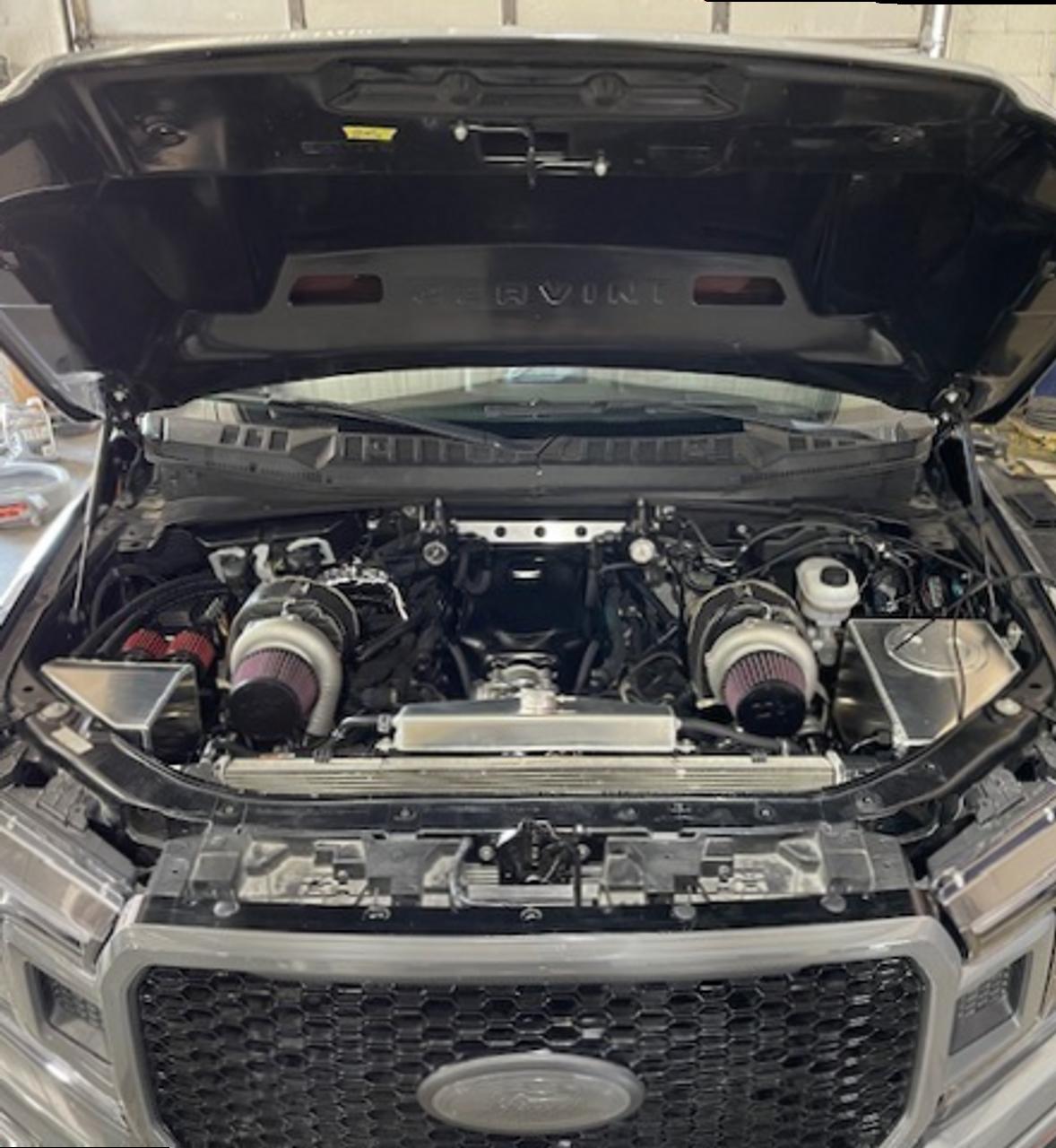 AldoWelds Top Mount Twin Turbo Kit (2015-2021 F150)