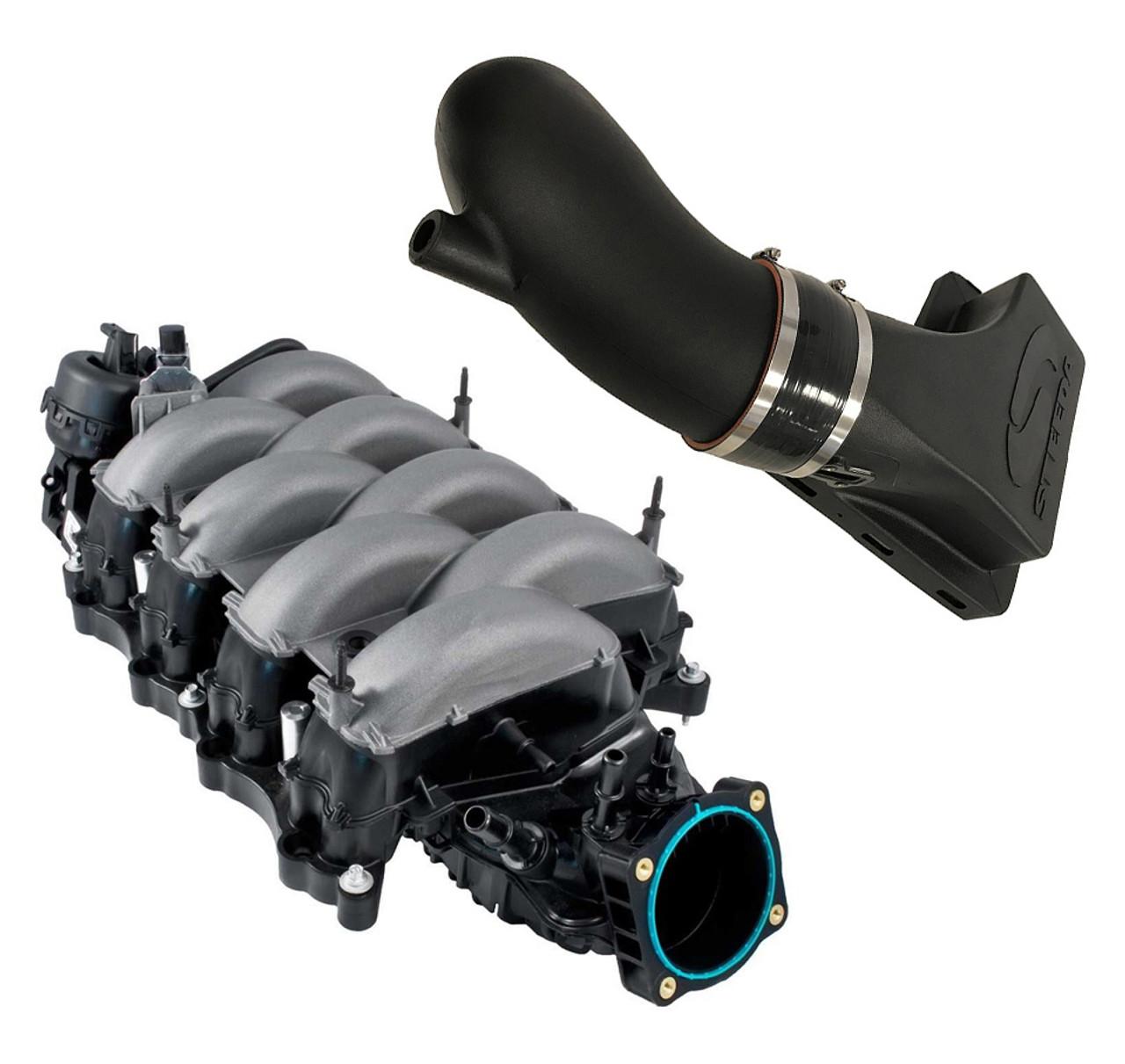 Ported 2018 Mustang Intake Manifold CAI Combo 2011-2020 Mustang GT