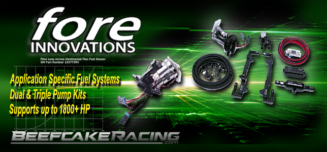 Fore Innovations Fuel Systems at Beefcake Racing