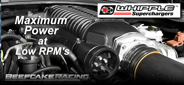 Whipple Superchargers Sale at Beefcake Racing