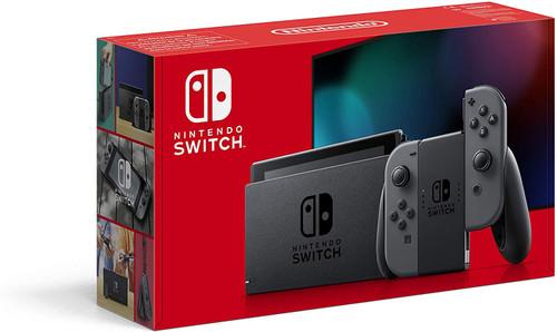 Nintendo Switch Console Grey Joy Con Main