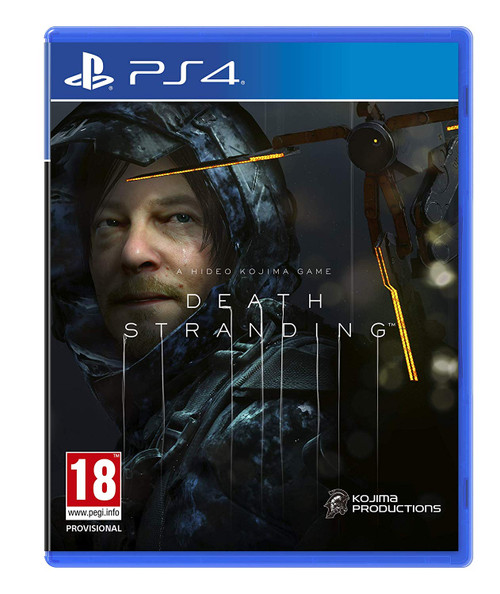 Death Stranding PS4 Video Game Cover Main at GameShark.ME