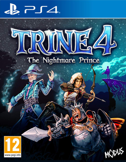 Trine 4 The Nightmare Prince PS4 Cover GameShark.ME