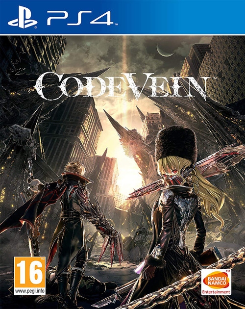 CODE VEIN PS4 Cover at GameShark.ME