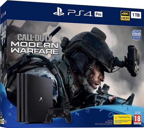 PS4 Console Slim 1TB Call Of Duty Modern Warfare Jet Black
