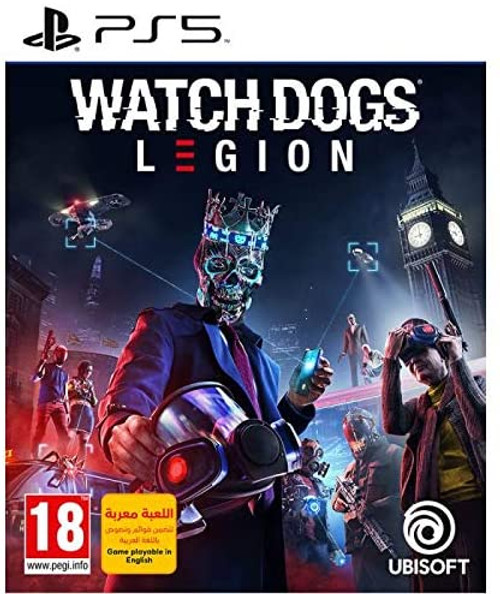 Watch Dogs: Legion Video Game Play Station 5 (PS5) UAE NMC Version
